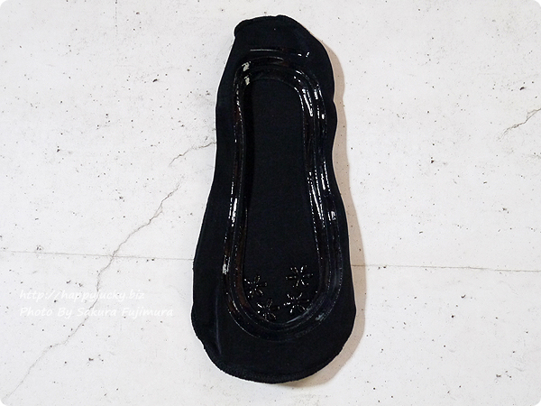 【100均キャンドゥ】足にフィット・脱げにくい シリコンフットカバー 浅履き シリコン位置