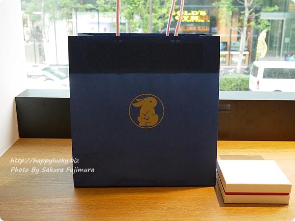 めのや ANAHITA STYLE(アナヒータスタイル)ANAHITA STONES(アナヒータストーンズ) うさぎ柄の紙袋