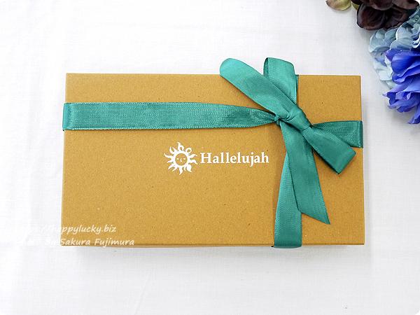 レザー専門店Hallelujah(ハレルヤ) 長財布包装サンプル
