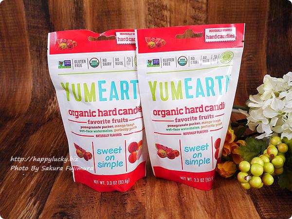 【iHerbアイハーブ購入品】YumEarth, オーガニックハードキャンディー、フレッシュフルーツ、3.3 oz (93.5 g)