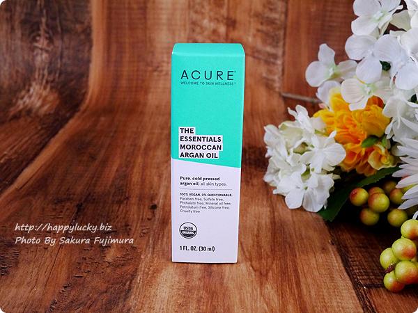 【iHerbアイハーブ購入品】Acure, The Essentials モロッコ産アルガンオイル 1 fl oz (30 ml)