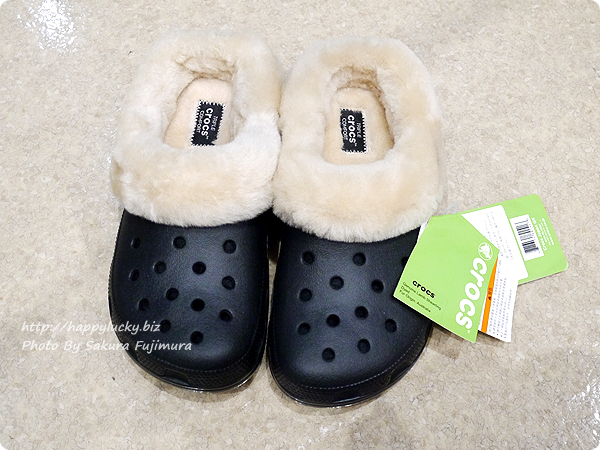 crocs クロックス Classic Mammoth Luxe Shearling Lined Clog クラシック マンモス ラックス クロッグ 全体