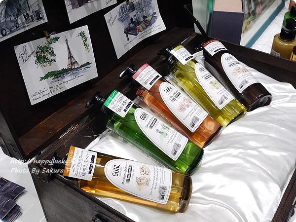 花王新ヘアケアブランド・GUHL(グール)から「GUHL LABORATORY(グール ラボラトリー)」(全5バリアント)着色料不使用、髪と地肌と同じ弱酸性。シャンプーはノンシリコン処方