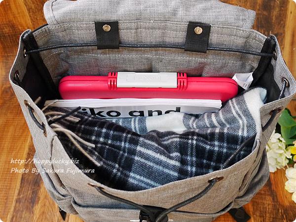 楽天市場ノリータフェアリーストーン「こだわりいっぱいの多機能リュック」たくさん荷物が入る