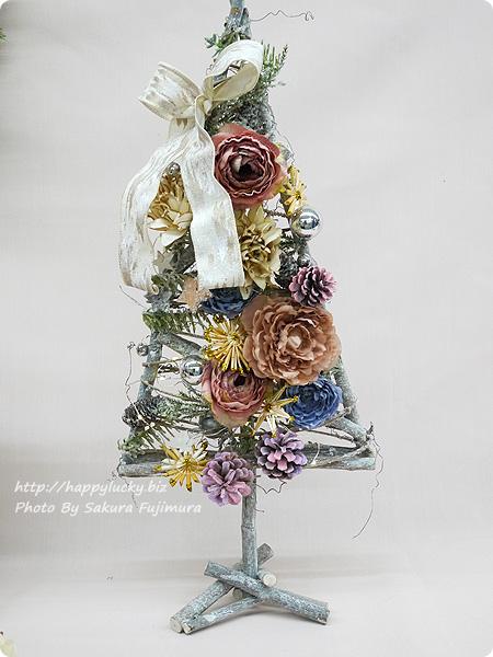 日比谷花壇 クリスマス アーティフィシャルツリー「シュマン」 全体