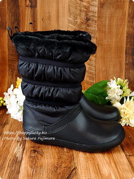クロックス crocs Women's Crocband Winter Boot クロックバンド ウィンター ブーツ ウィメン ブーツの筒はナイロン製シャフトで水に強いから雨の日も雪の日も