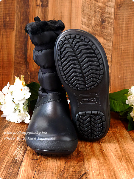 クロックス crocs Women's Crocband Winter Boot クロックバンド ウィンター ブーツ ウィメン アウトソール