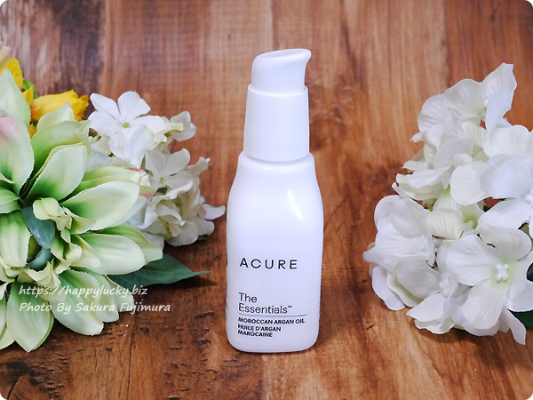 iherb(アイハーブ) Acure, The Essentials モロッコ産アルガンオイル 1 fl oz (30 ml) ボトル