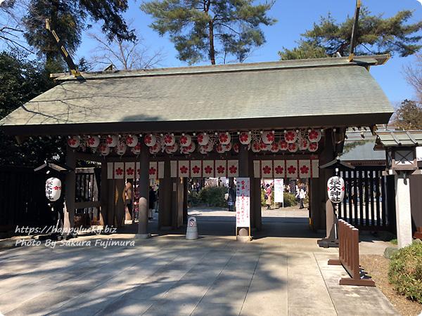 櫻木神社入口<千葉県野田市>