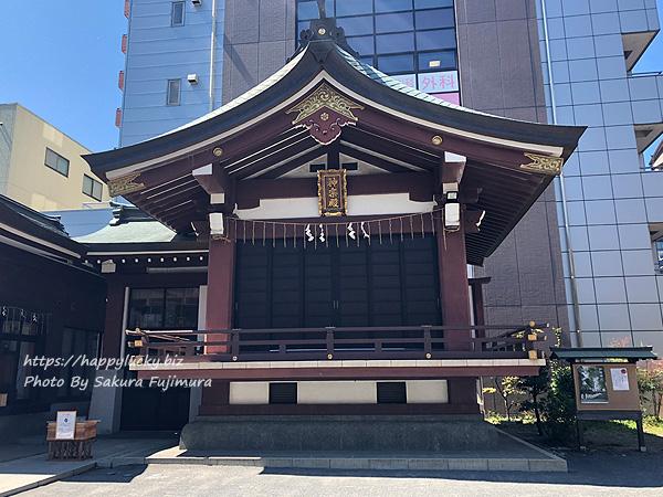 【御朱印巡り】柏神社 神楽殿