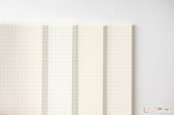 「ほぼ日の方眼ノート」文字、図や絵が描きやすい3.7ミリ方眼