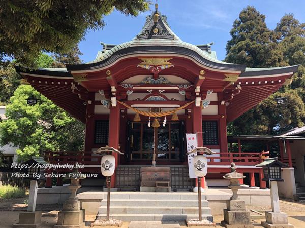 柏諏訪神社 本殿