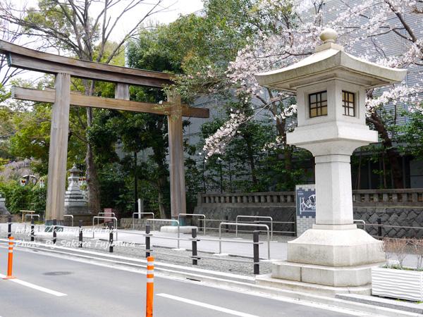 【御朱印巡り】東郷神社入り口