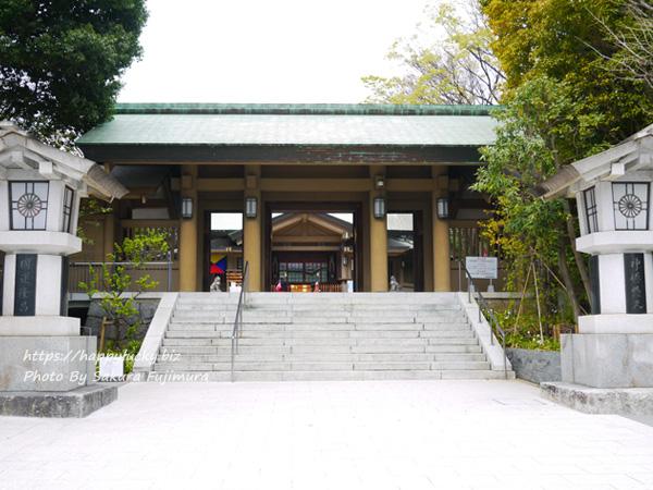 【御朱印巡り】原宿 東郷神社 神門