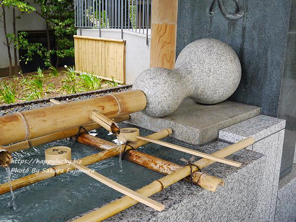 【御朱印巡り】原宿 東郷神社 手水舎