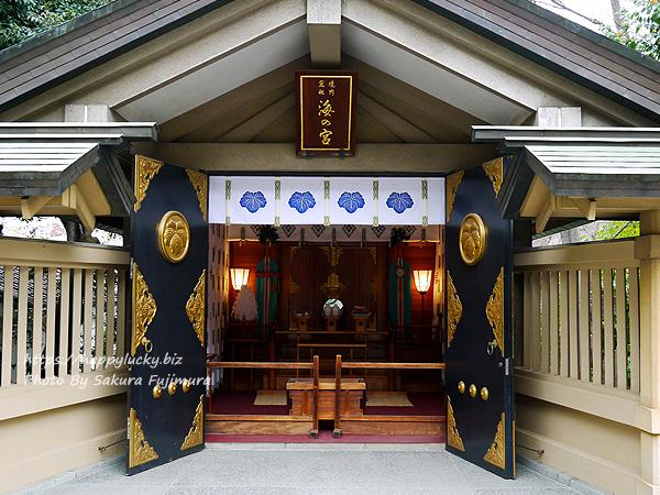 【御朱印巡り】原宿 東郷神社 海の宮