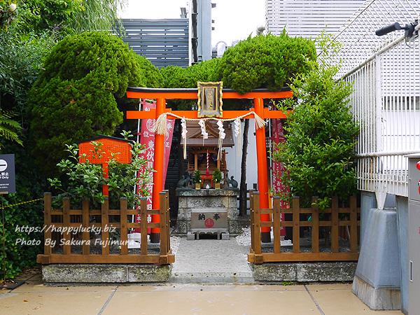 西武池袋本店屋上空中庭園 モネの庭「睡蓮の池」 伏見稲荷神社全体