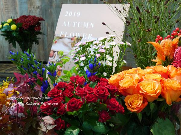 日比谷花壇 秋のフラワーアレンジメントに使われる花や植物 その1