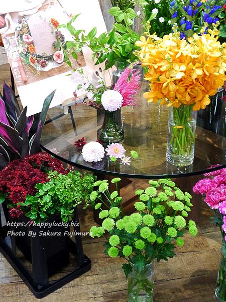 日比谷花壇 秋のフラワーアレンジメントに使われる花や植物 その3
