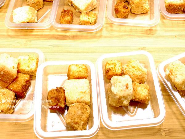 <大阪キューブらすく ル・キューブ 匠>ル・キューブらすく 一口大で大人も子供も食べやすい