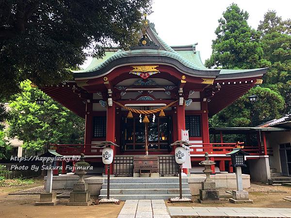 千葉県柏市 柏諏訪神社 拝殿