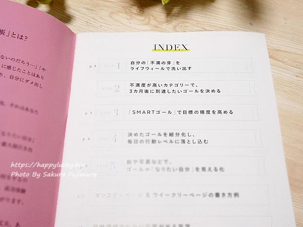 冊子付録 やるべきことが分かる! 自己肯定感が上がる! 「自分を幸せにする手帳」中身その2