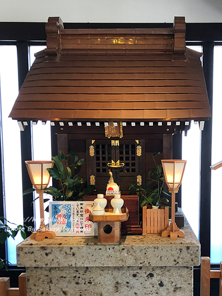 千葉県野田市 櫻木神社のトイレ 川屋神社社殿