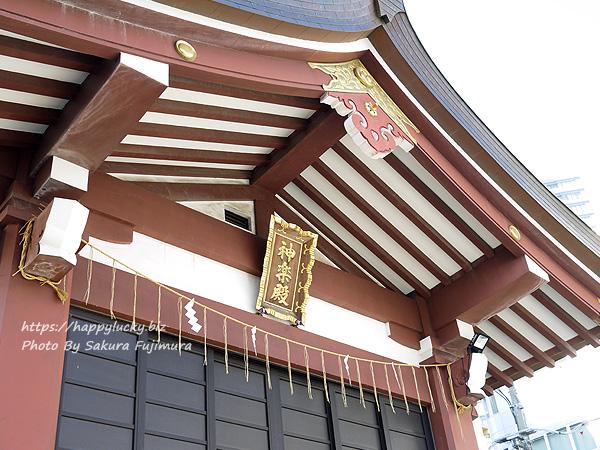 千葉県柏市 柏神社 神楽殿