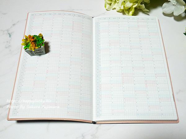 コクヨ ジブン手帳 Lite mini 手帳 2020年 B6 スリム マンスリー&ウィークリー ネイビー ニ-JLM1DB-20 2019年 12月始まり 年間スケジュール