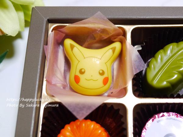 ポケットモンスター(ポケモン) バレンタイン2020 チョコレート「チョコセット」ピカチュウアップ